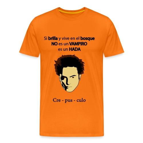 Crepusculo - hada - chico manga corta - Camiseta premium hombre