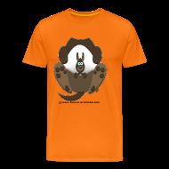 Tee shirts ~ T-shirt Premium Homme ~ Kangourou homme orange