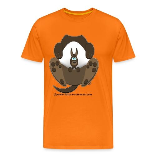 Kangourou homme orange - T-shirt Premium Homme