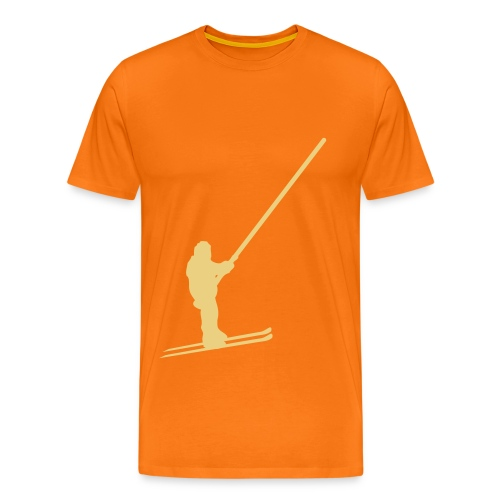Freeskiin lift - Männer Premium T-Shirt