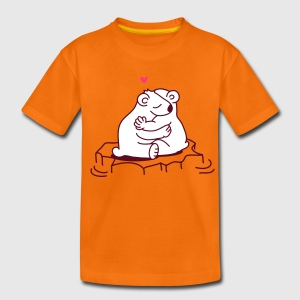 Oranje  Kinder shirts - Teenager Premium T-shirt