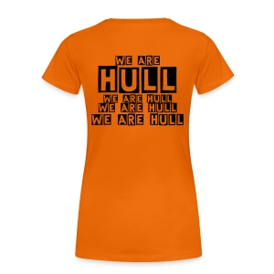We Are Hull - Orange/Black -Women's Girlie T-Shirt - Women's Premium T-Shirt
