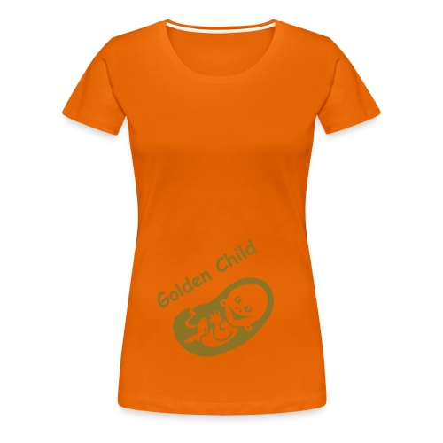 Golden Child classic orange - Women's Premium T-Shirt