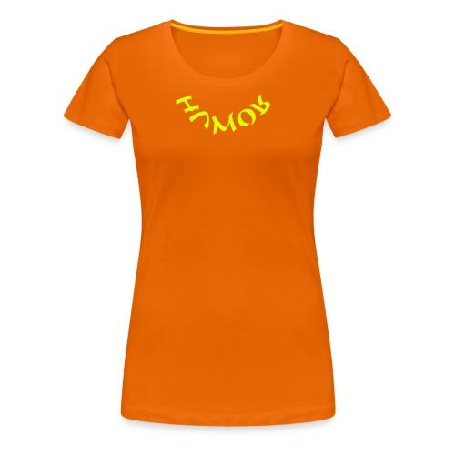 HUMOR in neon - Frauen Premium T-Shirt