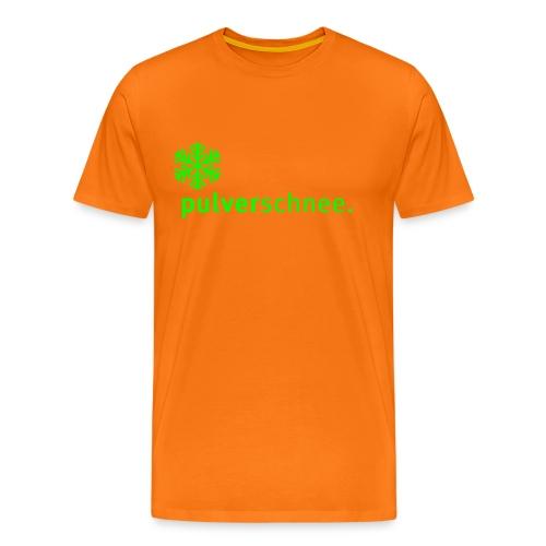 Pulverschnee Shirt - Männer Premium T-Shirt