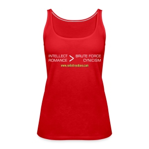 Intellect & Romance (Tank Top) - Women's Premium Tank Top