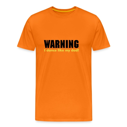 Warning - Men's Premium T-Shirt