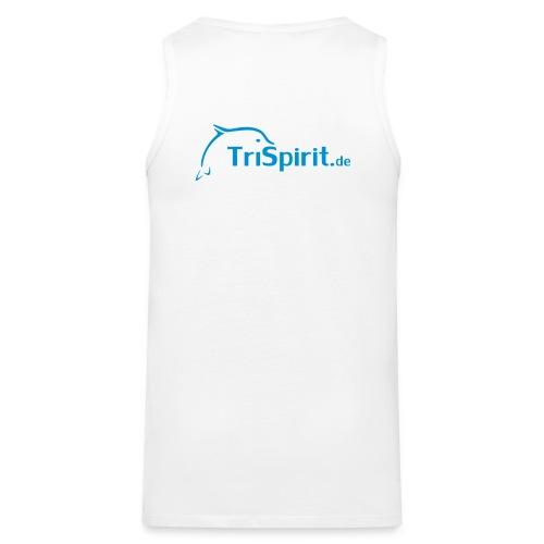 Arti Muskelshirt blaues Logo  - Männer Premium Tank Top