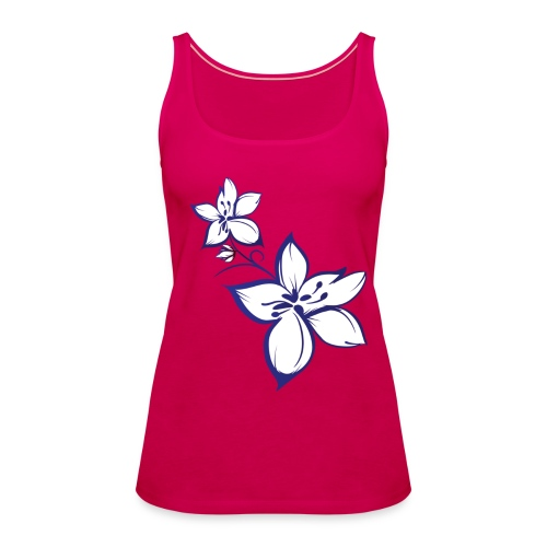 Flower Top - Frauen Premium Tank Top