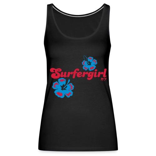 Surfergirl - Frauen Premium Tank Top