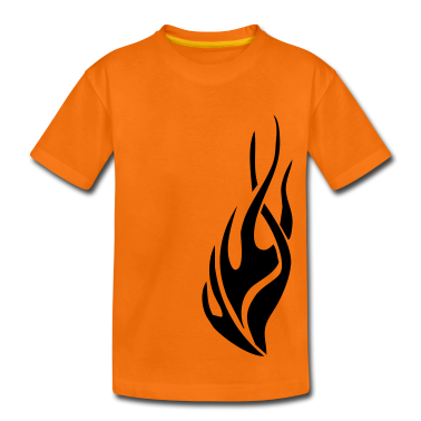 tribal flame Kids' Shirts