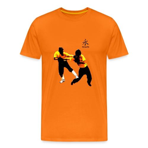 Everlasting siu lam wing chun pai VORN mit Motiv - Männer Premium T-Shirt