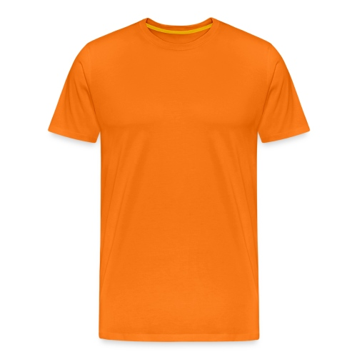 The Orange t-shirt. Orange is the color that stimulate creativity and innovation!  - Men's Premium T-Shirt
