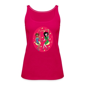 Birds and music - Frauen Premium Tank Top