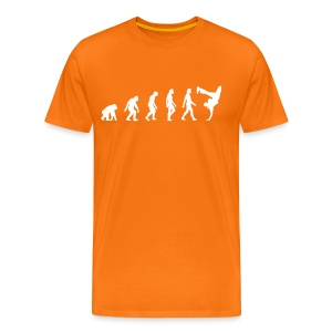 Evolution of Hip Hop (goldorange) - Männer Premium T-Shirt