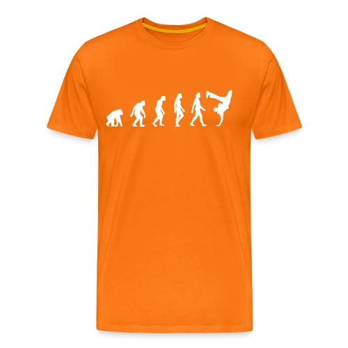 Evolution of Hip Hop (goldorange) - Männer Premium T-Shirt