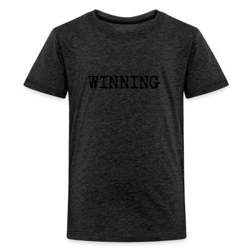 WINNING (kids) - Teenage Premium T-Shirt
