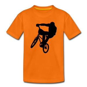 bmx sport Kids' Shirts - Teenage Premium T-Shirt