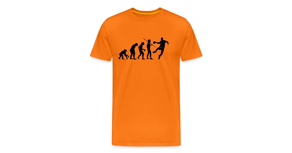 Tee-shirts Handball   Tee-Shirt Homme Handball Evolution impression noir - T -shirt Premium Homme e529cd3060bf