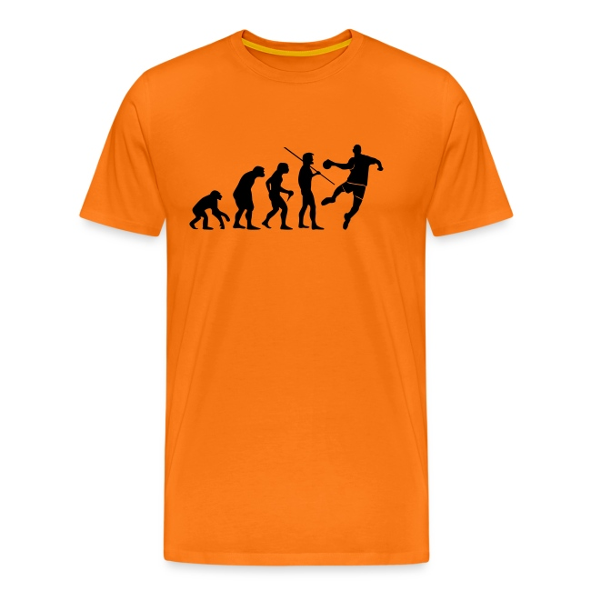 7b37919d527b4 Tee-shirts Handball   Tee-Shirt Homme Handball Evolution impression ...