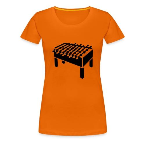 Tischkickerin - Frauen Premium T-Shirt