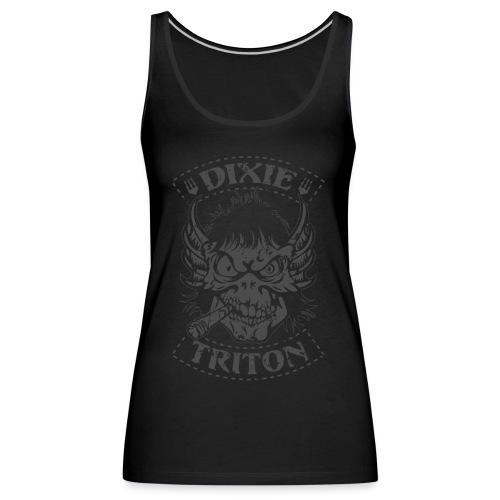 Dixie Triton - Canotta premium da donna