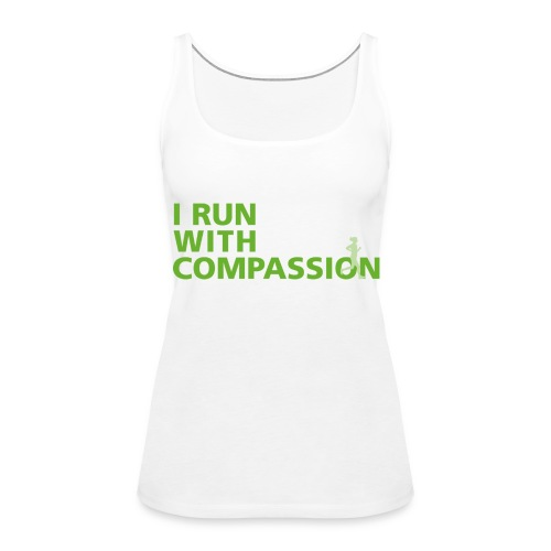 Women's Run with Compassion vest top - Women's Premium Tank Top