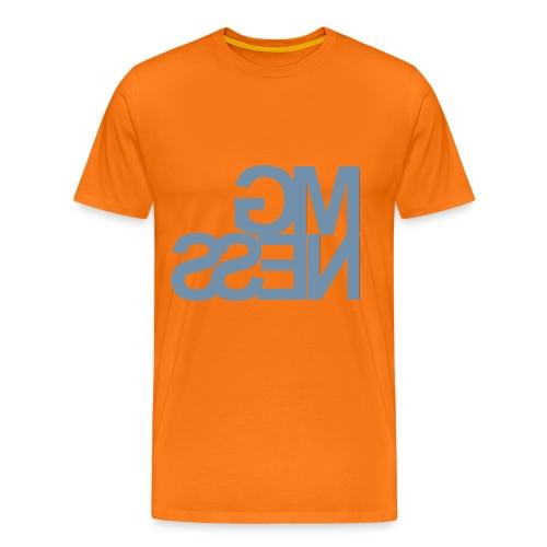 MGness Oranje Grey classic - Männer Premium T-Shirt