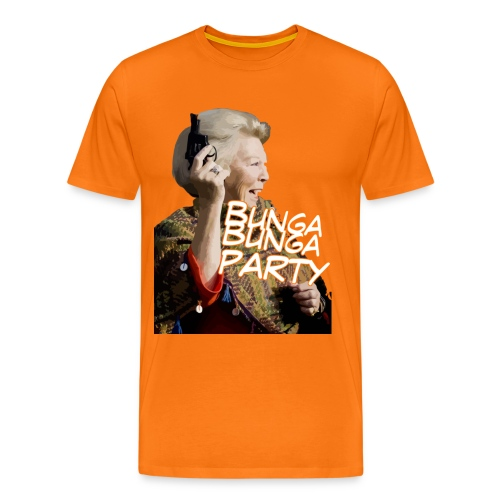 Bunga bunga party mannen tshirt - Mannen Premium T-shirt