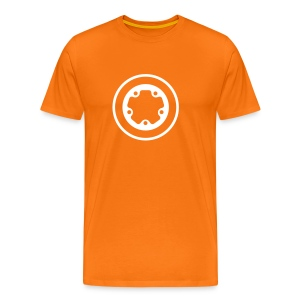widefive / orange - Men's Premium T-Shirt