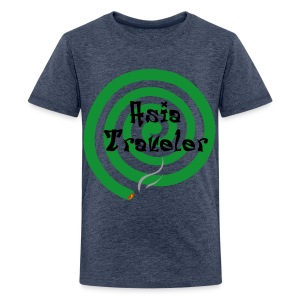 Asia Traveler - Teenage Premium T-Shirt
