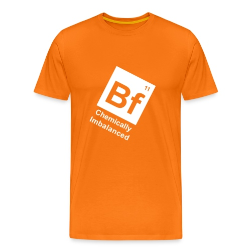 BF11 tilt orange - Men's Premium T-Shirt