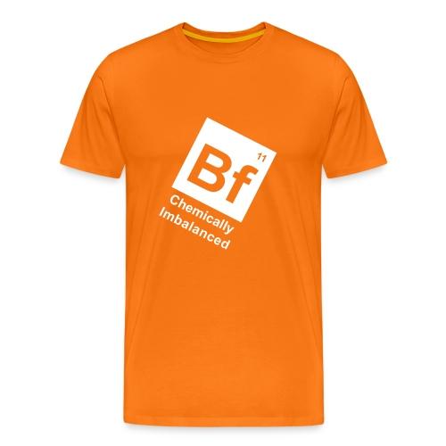 BF11 tilt orange - Men's Premium T-Shirt