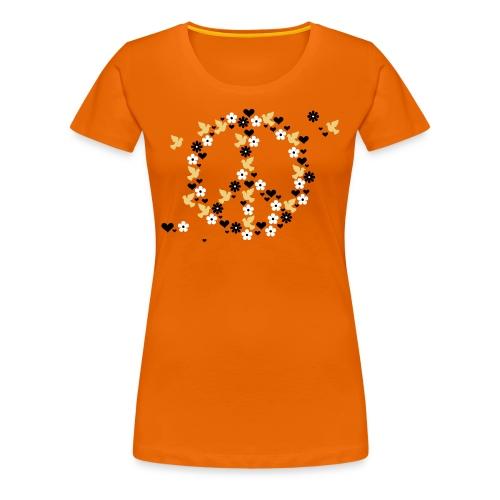 Peace top in varied colours - Women's Premium T-Shirt