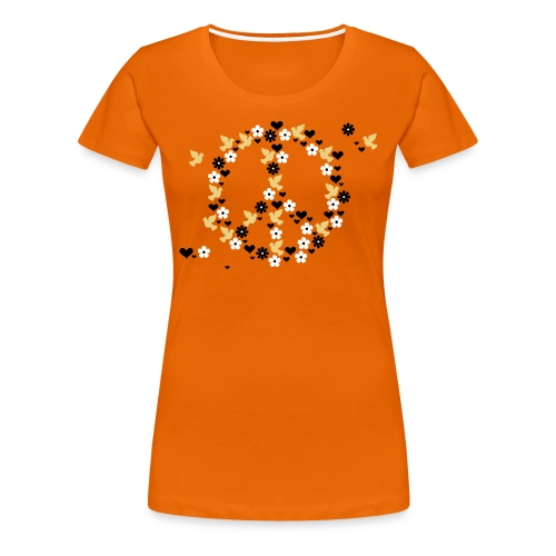 Peace top in varied colours - Women's Premium T-Shirt