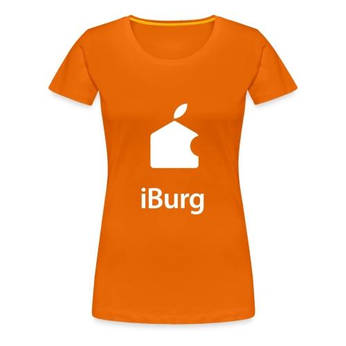 Koningsdag T-shirt (dames) - Vrouwen Premium T-shirt