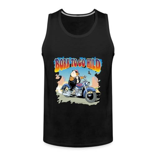 Born to Go Wild - Männer Premium Tank Top