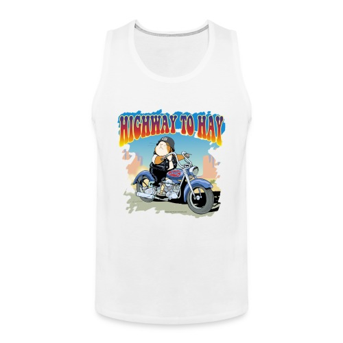 Highway to Hay - Männer Premium Tank Top