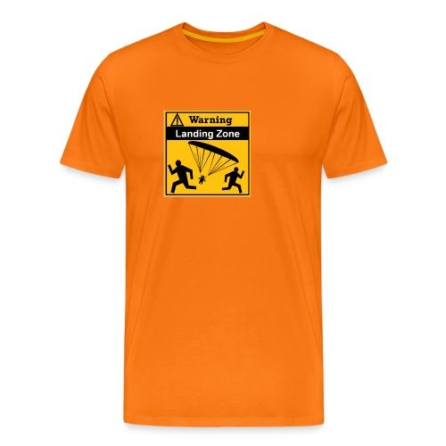 Landing Zone - Männer Premium T-Shirt