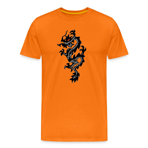 Black Dragon, limitiertes T-Shirt - Männer Premium T-Shirt