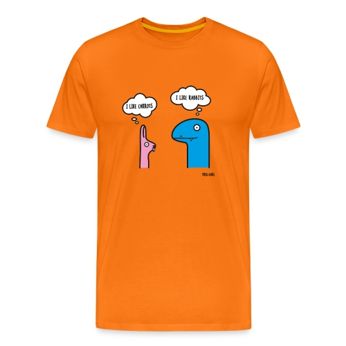 Fred & Earl - Like Carrots - Männer Premium T-Shirt