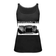 Tops ~ Frauen Premium Tank Top ~ Normandy 44 girl