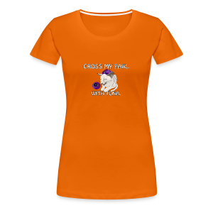 MYSTIC KITTY - Women's Premium T-Shirt