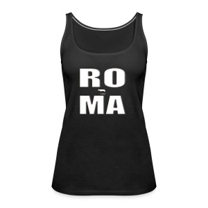 ROMA-WHITE - Women's Premium Tank Top