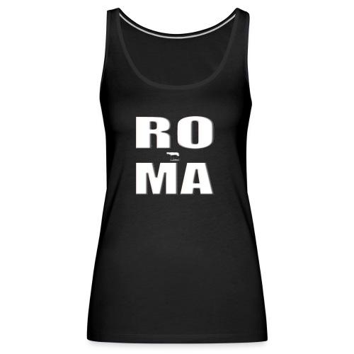 ROMA-WHITE - Women's Premium Tank Top