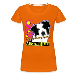 Happy - orange frauenshirt - Frauen Premium T-Shirt