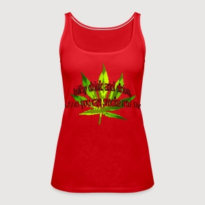 Why drink and drive, when you can smoke and fly | Frauen Tank Top - Frauen Premium Tank Top
