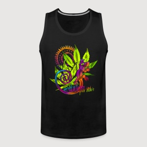 DON'T WALK ON THE GRASS - SMOKE IT! | Männershirt ärmellos - Männer Premium Tank Top