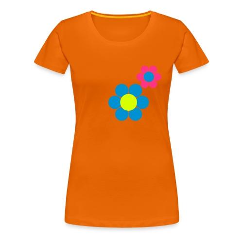 Blümchen Shirt - Frauen Premium T-Shirt