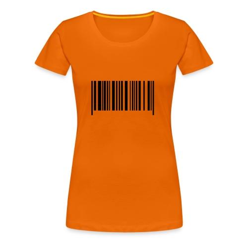 Barcode Shirt - Frauen Premium T-Shirt